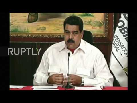 Venezuela: Maduro demands apology from US for labelling VP a 'drug trafficker'