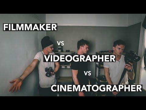 FILMMAKER vs VIDEOGRAPHER