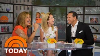 Alex Rodriguez Opens Up About Dating Jennifer Lopez And Embarrassing Family Moments | TODAY