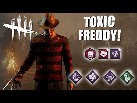 Playing As Freddy Krueger BUT I'm SUPER TOXIC | Dead By Daylight