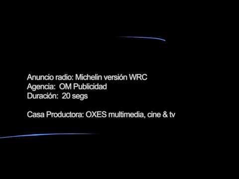 Anuncio de radio para Michelin WRC