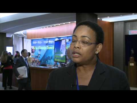 Cointha Thomas, Permanent Secretary Ministry of Health of Saint Lucia
