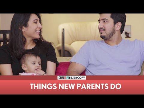 FilterCopy |Things New Parents do | Ft Kriti Vij, Pranay Manchanda & Baby Heisha