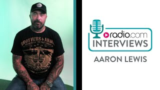 Aaron Lewis on Signing to Big Machine Records
