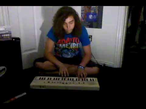 Young Post Malone playing keyboard (RARE) BEFORE HE WAS FAMOUS!
