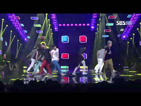 NU'EST [Not Over You] @SBS Inkigayo 인기가요 20120902