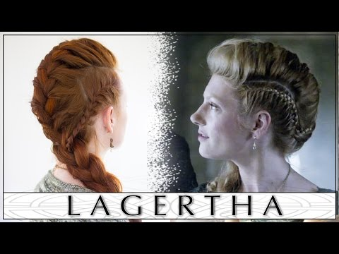 Hair Tutorial: Lagertha's Big French Braid Faux Hawk