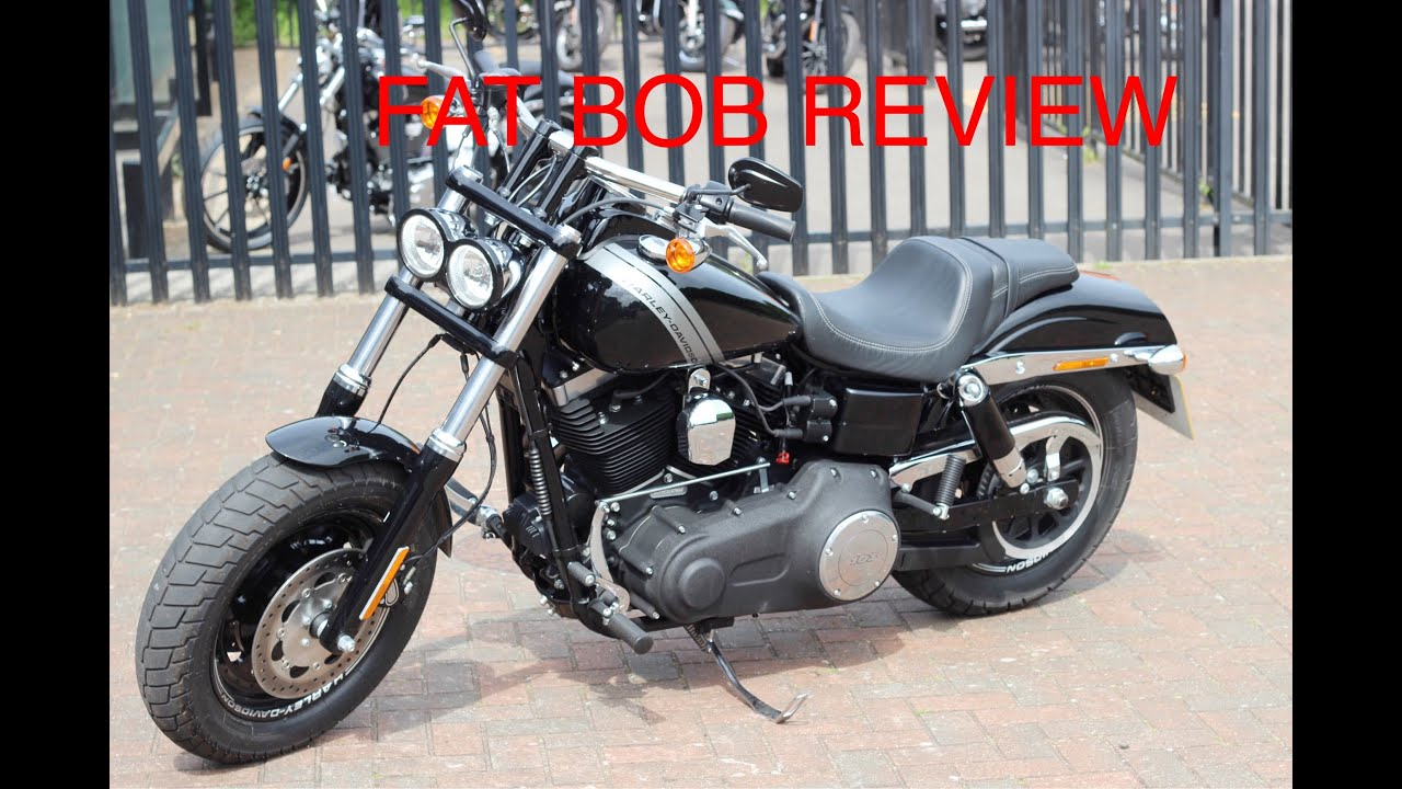 harley davidson 2016 fat bob first ride review youtube. Black Bedroom Furniture Sets. Home Design Ideas