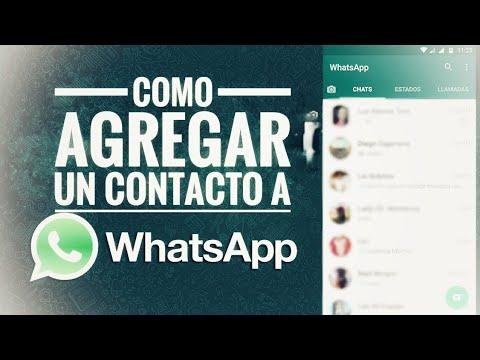 Como Agregar Contactos A WhatsApp 2019 | Plus Android