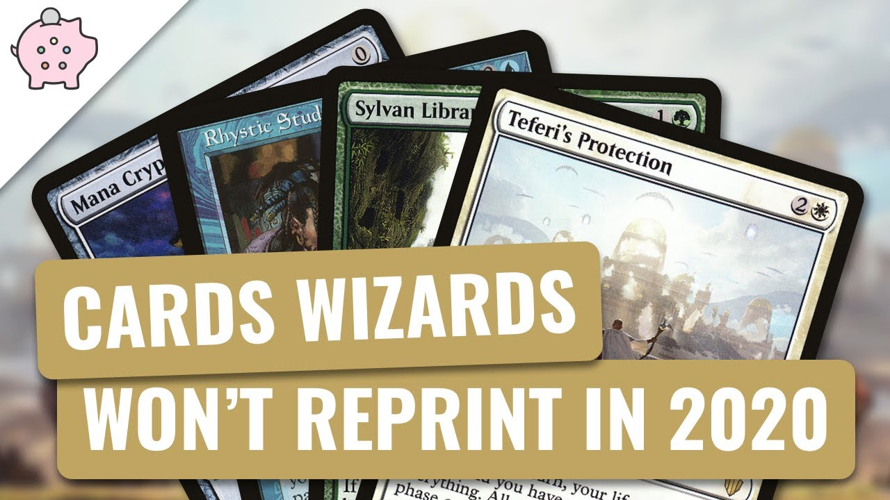 Edh Banned List 2020.The Commander Cards Wizards Won T Reprint In 2020 Edh Commander Legends Magic The Gathering