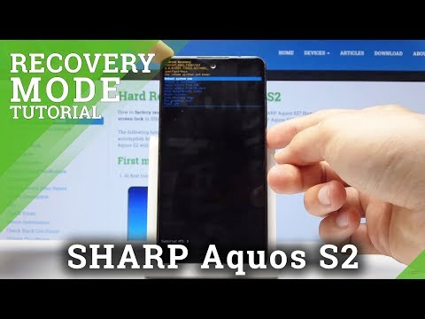 Recovery Mode in SHARP Aquos S2 - How to Enter & Quit