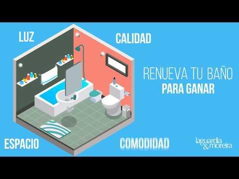Renueva tu baño con Laguardia & Moreira