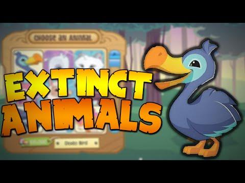 EXTINCT ANIMALS IN ANIMAL JAM?