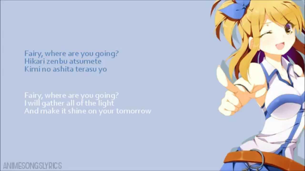 Full Fairy Tail Op 1 Snow Fairy Original English