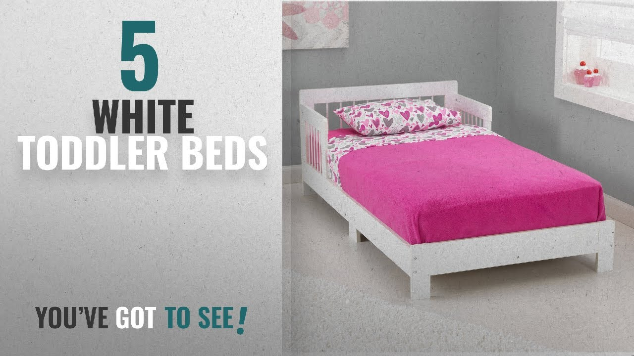 Top 10 White Toddler Beds 2018 KidKraft Houston Bed