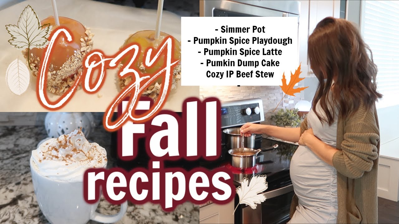 FALL COOK WITH ME 2020 // 5 COZY FALL RECIPES TO GET IN THE FALL MOOD // Simply Allie