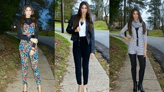 How to Style Jumpsuits and Rompers in the Winter