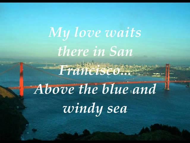 I Left My Heart (in San Francisco) W/Lyrics - Tony Bennett Chords ...