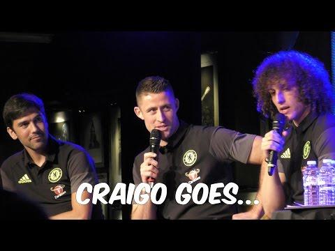 DAVID LUIZ, GARY CAHILL AND PAULO FERREIRA (EP8 CRAIGO GOES...)