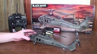 Heli-Max - Black Hawk - Review and Outdoor Flight