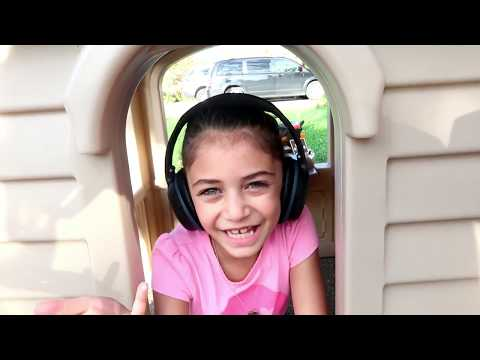 McDonalds Drive Thru Happy Meal Prank! Power Wheels Ride On Car For Kids