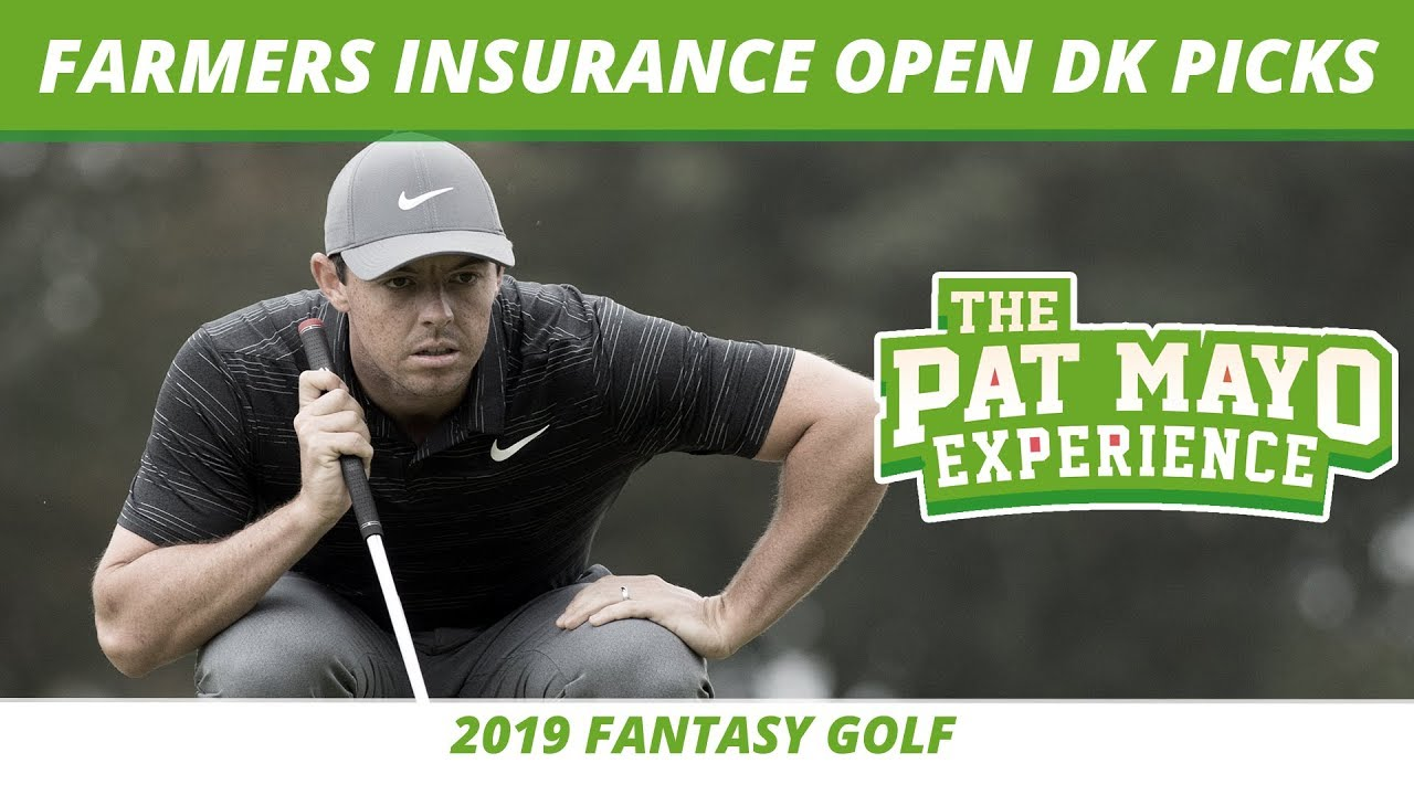 2019 Fantasy Golf Picks Farmers Insurance Open Draftkings Picks Preview Sleepers