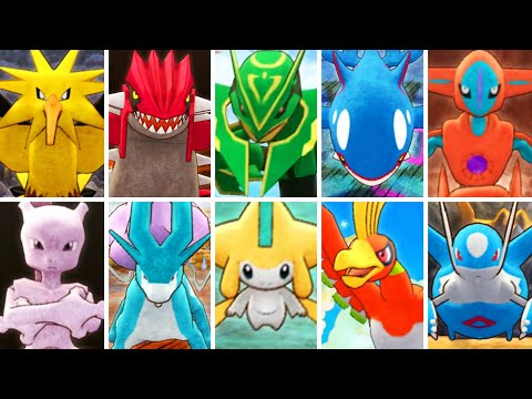 Pokémon Mystery Dungeon DX - All Bosses & Legendaries
