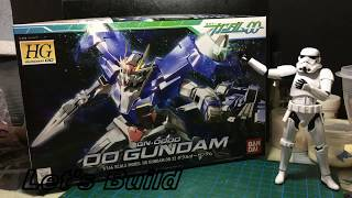 Let's Build HG Gundam 00