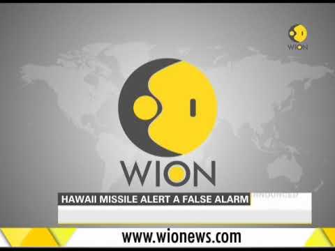 Hawaii missile alert a false alarm