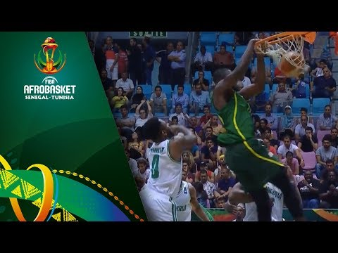 Senegal's Youssoupha Ndoye SHATTERS the Backboard!! (VIDEO) FIBA AfroBasket 2017