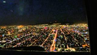 [HD] Lufthansa Boeing 747-8 Night Landing Mexico City