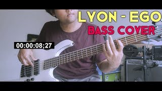 Gambar cover LYON - Ego (Bass Cover)