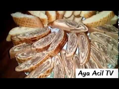 وصفة كروكي و كروكي رولي قمة في الرووووعة من قناة_Aya Acil TV