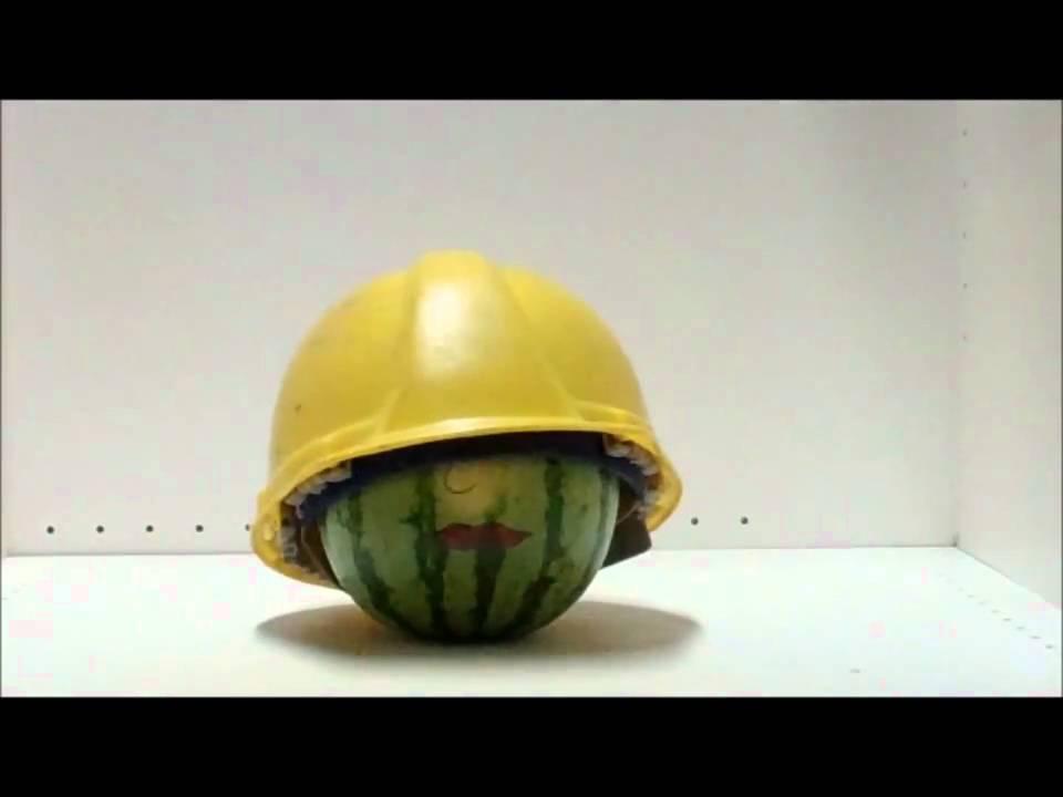 1e8db0ce531 Hard Hat Safety Demo.wmv - YouTube