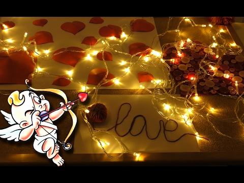 DIY на День Святого Валентина ♥ Декор комнаты на День Влюбленных ♥ - Видео приколы ржачные до слез