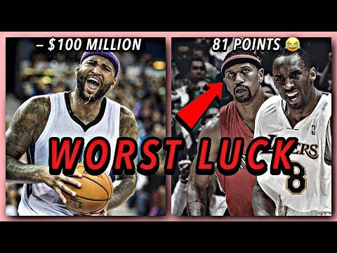 These NBA Stars Were Very Unlucky