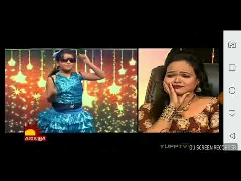 Kalaignar TV Odi Vilayadu Pappa 6 Meenakshi Aishwarya Dance Round1