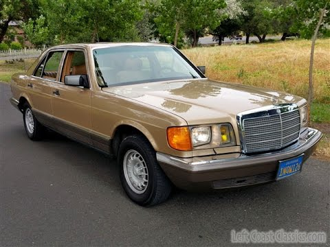 1984 mercedes benz 300sd turbo diesel youtube. Black Bedroom Furniture Sets. Home Design Ideas