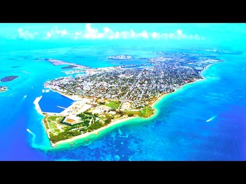 Landing In Key West, Florida - 2015 HD