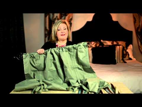 How to Decorate With Sage Green-Colored Curtains as Accents : Creative Curtains