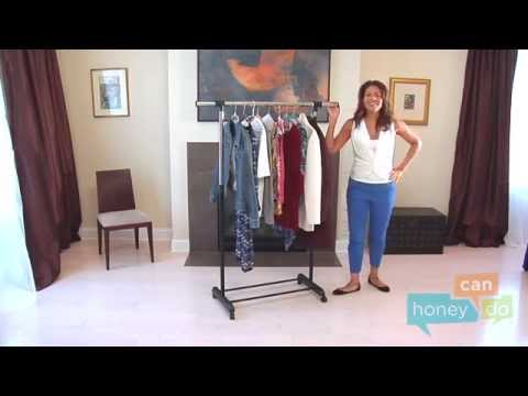 honey-can-do-gar-01124-expandable-garment-rack-instruction-video