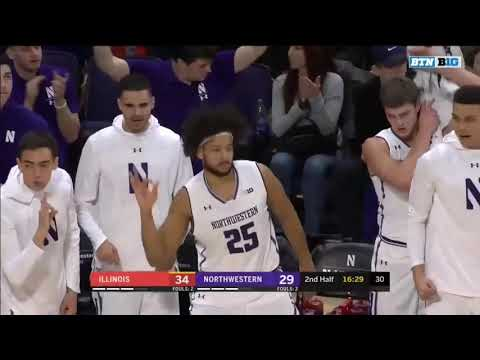 Men's Basketball - Illinois Highlights (1/6/19)