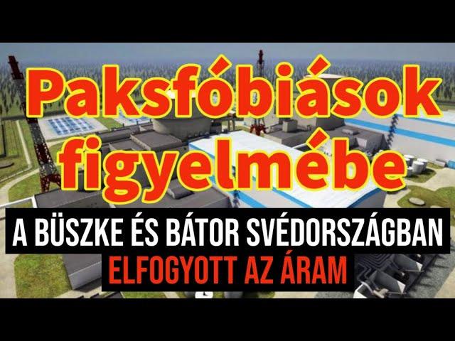 Paksfóbiások figyelmébe – Svédországban elfogyott az áram!