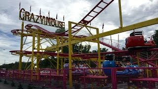 Crazy Mouse (GoPro POV) at the Indiana State Fair Midway