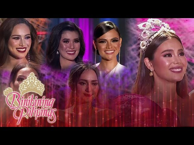 Reigning Queens Farewell Walk   Binibining Pilipinas 2019 (With Eng Subs)