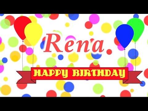 Happy Birthday Rena Song