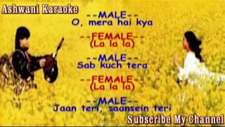 Tujhe dekha to yeh jaana sanam with female voice