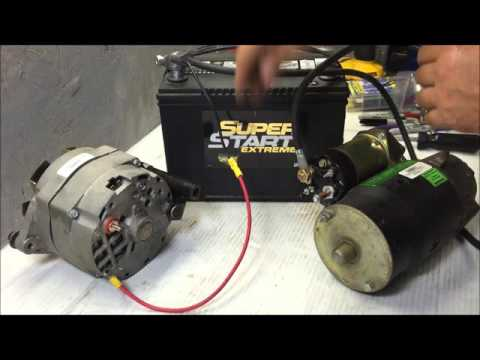 64-72 charging system wire up using gm 3 wire internally regulated  alternator - youtube
