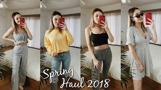 HUGE SPRING TRY-ON HAUL 2018