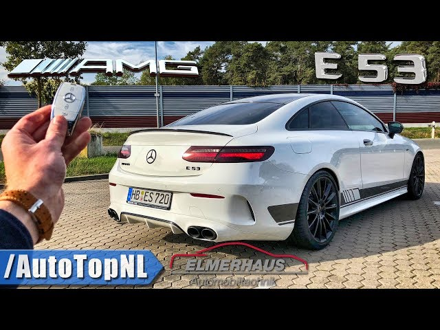 465HP E53 AMG Coupe Elmerhaus REVIEW POV on AUTOBAHN by AutoTopNL